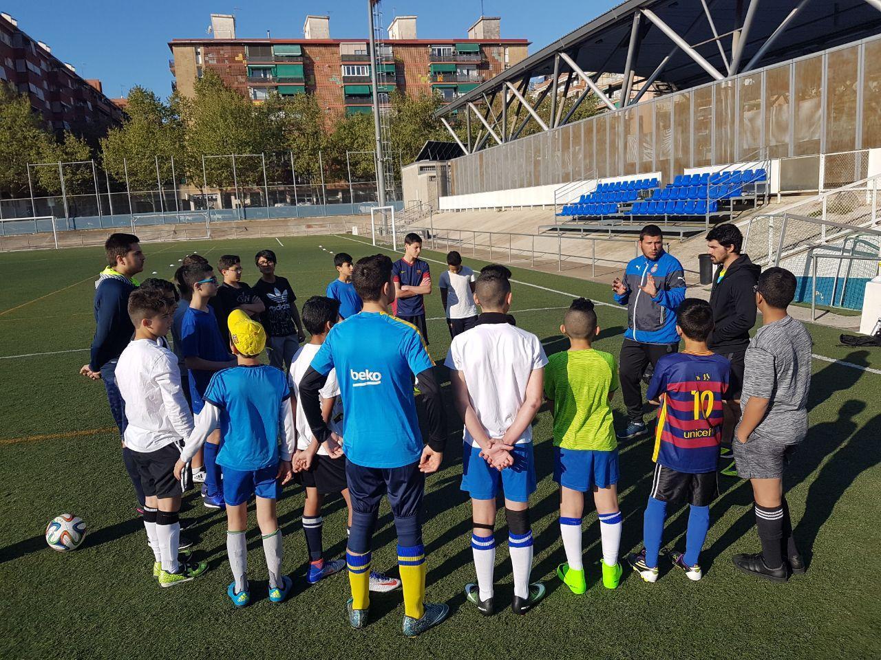 מחנה כדורגל לנוער