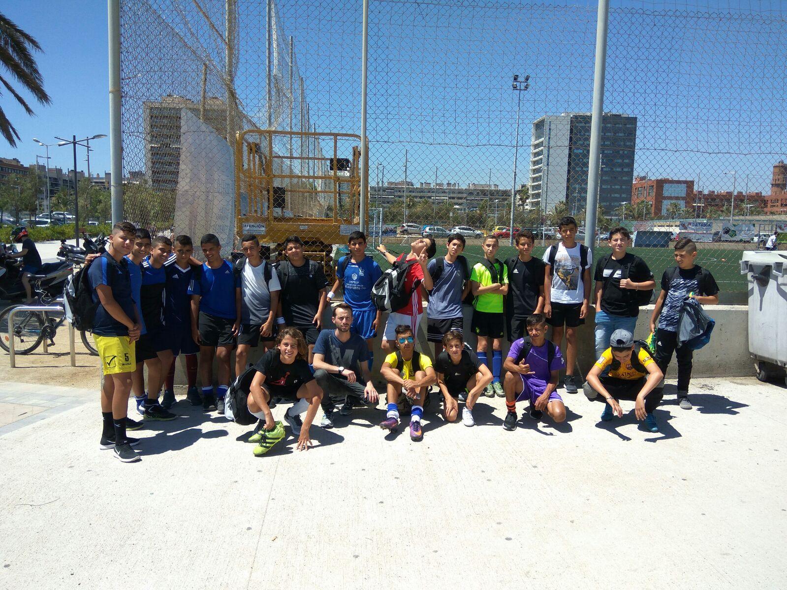 מחנה אימונים בספרד